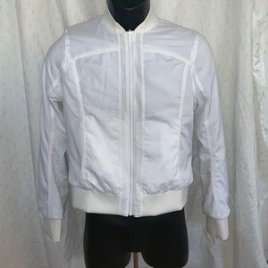 Lululemon Women Size 4 white jacket